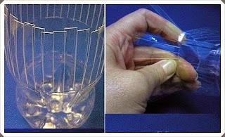 Pet Şişeden vazo yapımı, resimli açıklamalı 1