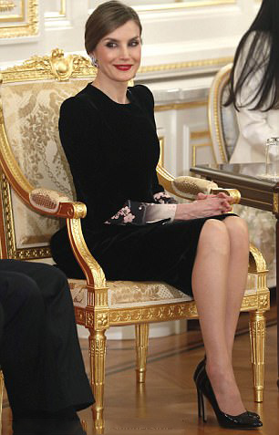 Royal family around the world king felipe vi and queen for Classic house akasaka