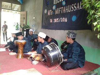 Acara Pelepasan Siswa Perdana Mts Miftahussalam Megang Sakti