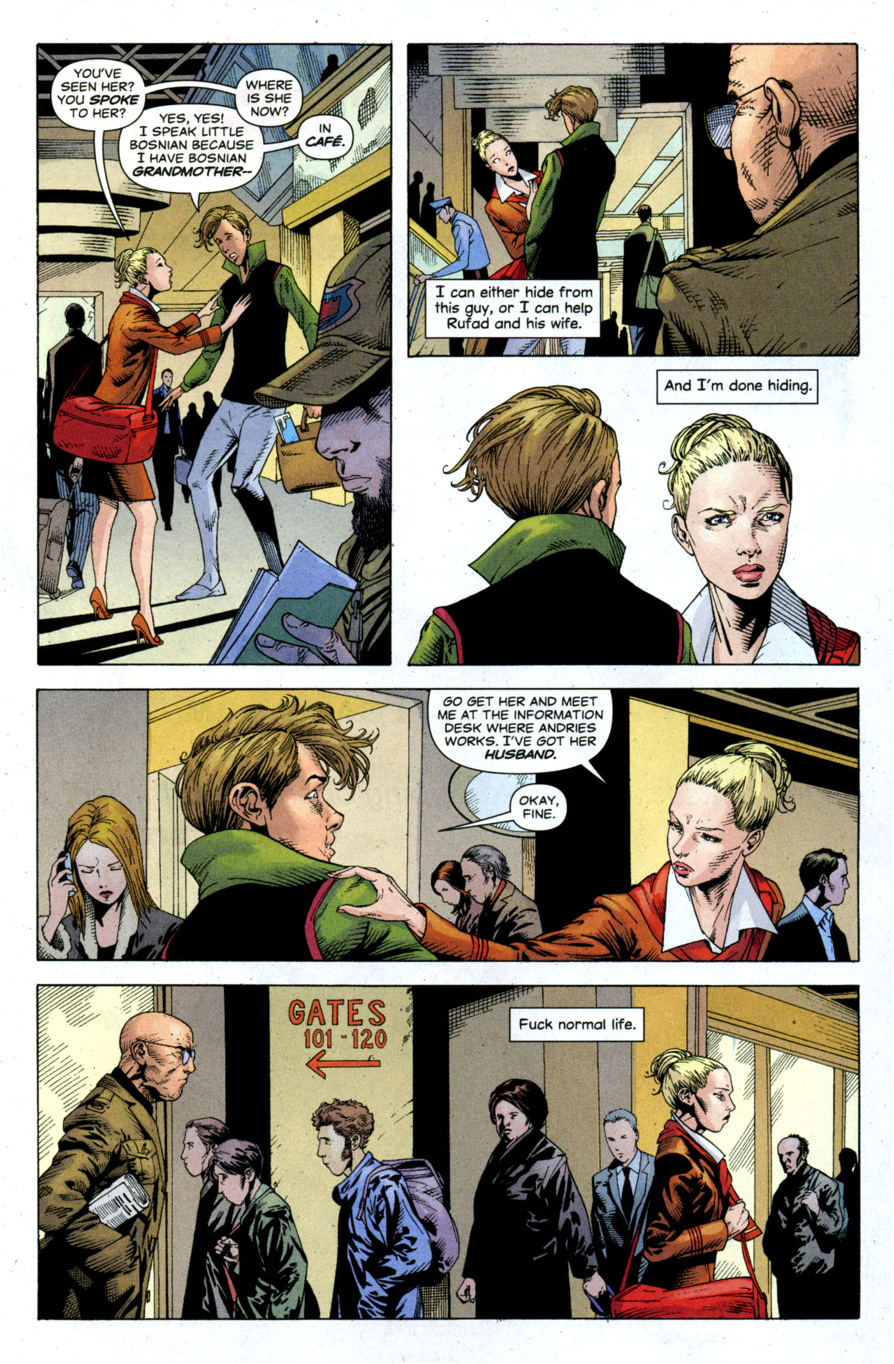 Read online Air comic -  Issue #9 - 13