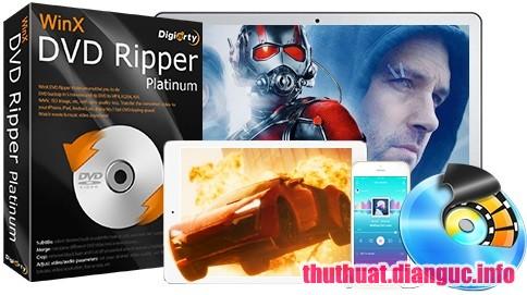 tie-mediumDownload WinX DVD Ripper Platinum 8.8.0.208 Full Key – Phần mềm chuyển đổi định dạng DVD