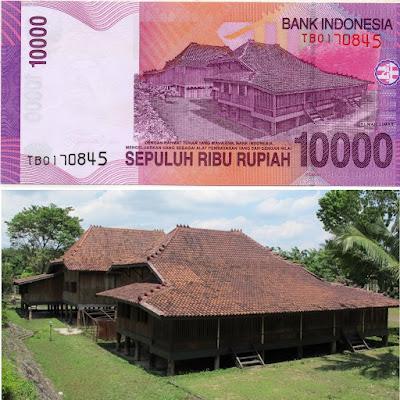 Penampakan Asli Dari Uang Rupiah Indonesia Sepuluh Ribu Rupiah