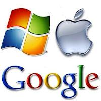 Microsof x Apple x Google.