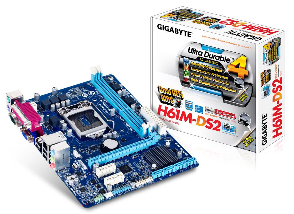 Main Gigabyte H61M (H61M-DS2 / H61M-D2PV)