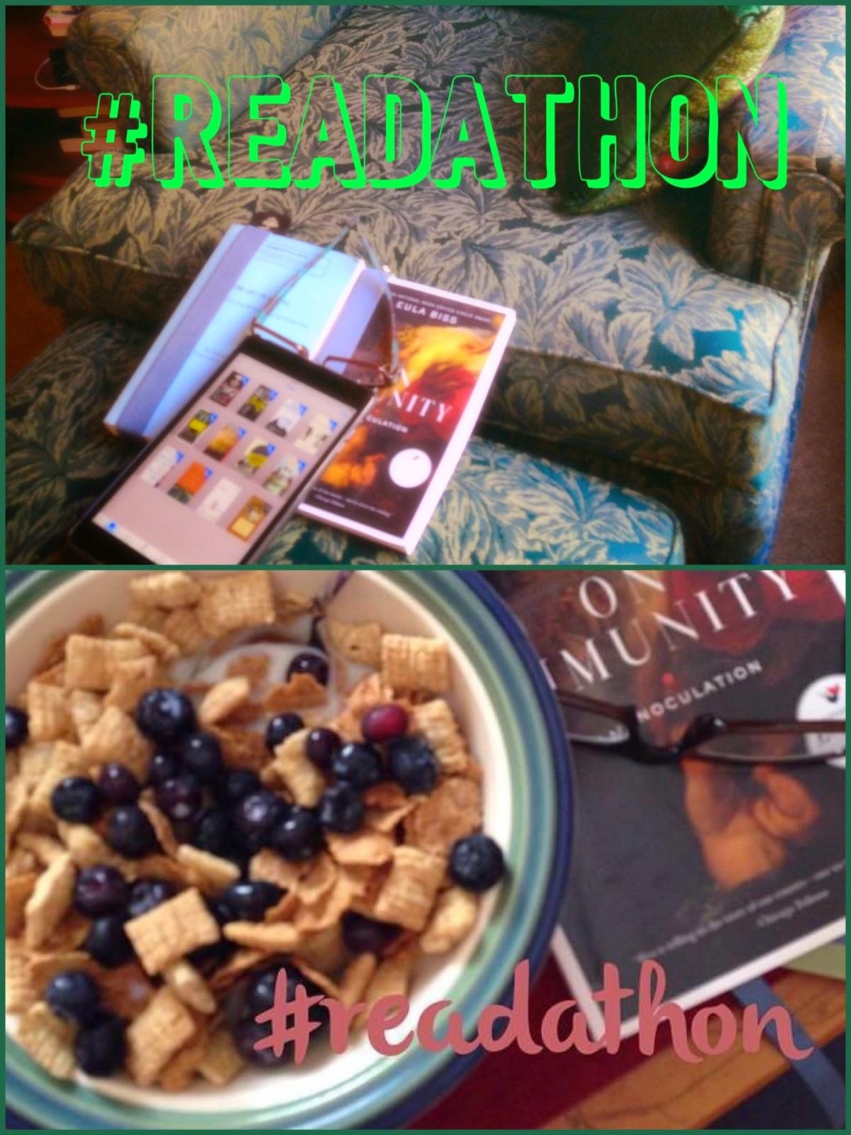 Fall Readathon photo collage The 3 Rs Blog