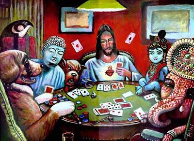 """""""Perros jugando a póker"""" dioses"""