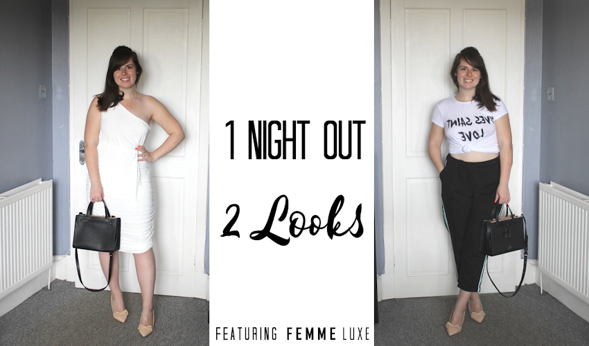 1 Night out. 2 Looks.