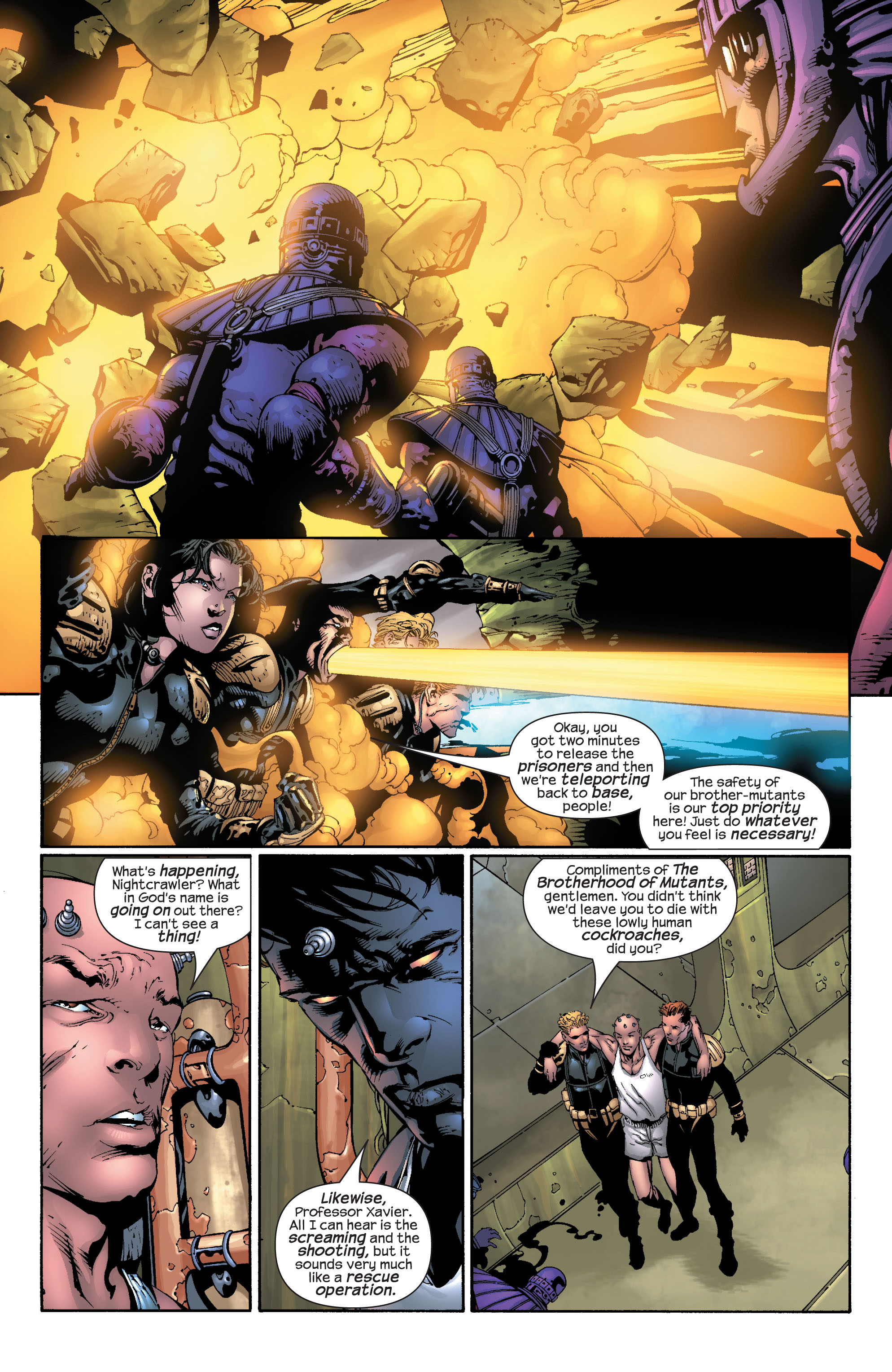 Read online Ultimate X-Men comic -  Issue #30 - 12