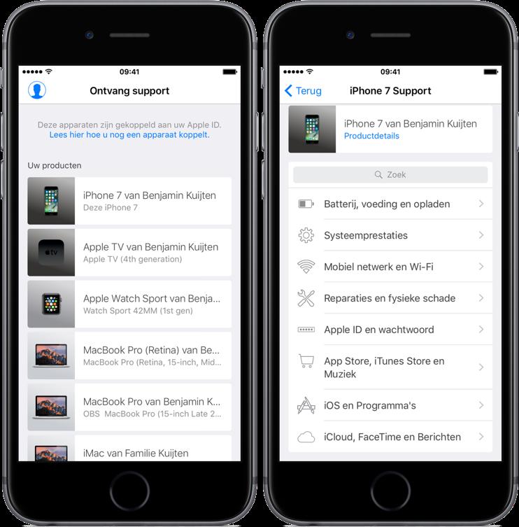 HD Nieuws: Nieuwe Apple Support-app voor Nederland