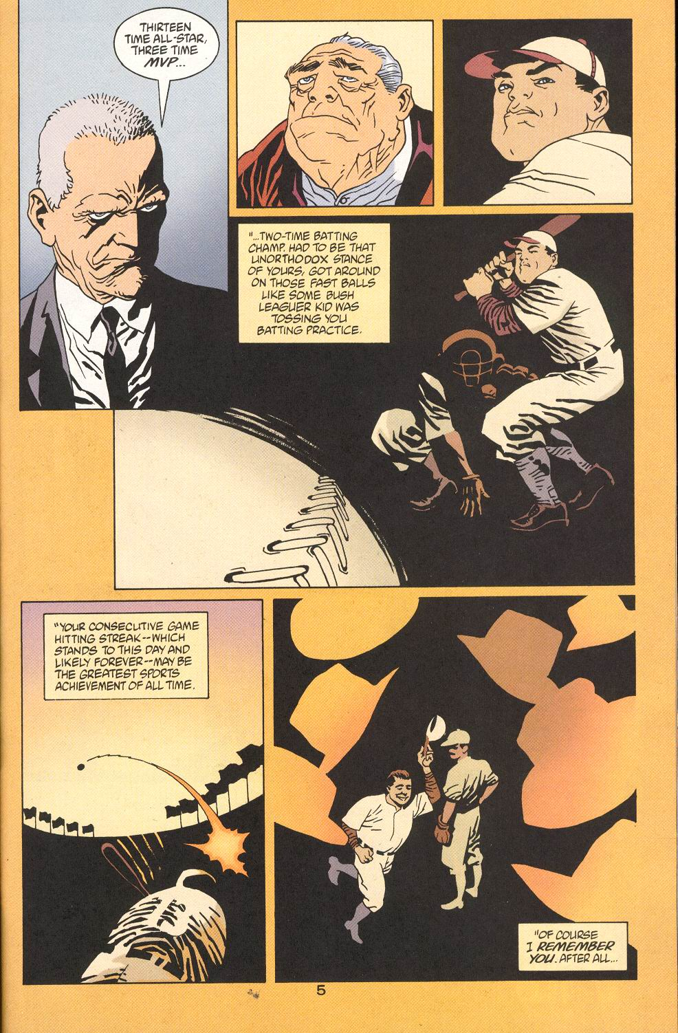 Read online 100 Bullets comic -  Issue #27 - 7
