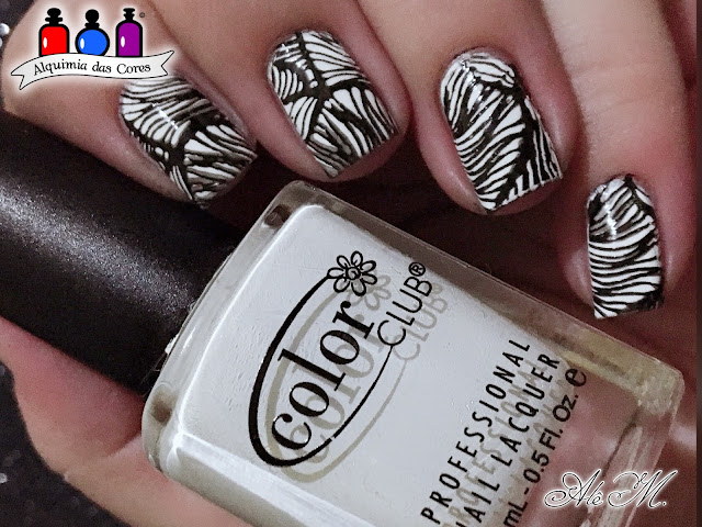 Color Club, French Tip, White, Black, EDA05, DRK Nails, Extra Black, Alquimia das Cores, Alê M 2018