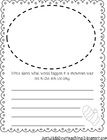 Just Wild About Teaching: Tis' the Season for a Snowman Freebie!