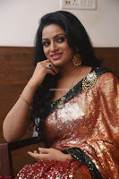 Udaya Bhanu lookssizzling in a Saree Choli at Gautam Nanda music launchi ~ Exclusive Celebrities Galleries 032.JPG