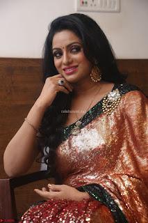 Udaya Bhanu lookssizzling in a Saree Choli at Gautam Nanda music launchi ~ Exclusive Celebrities Galleries 032.JPG
