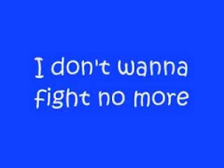Westlife Lyrics - I Don't Wanna Fight No More