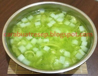 Foto Resep Es Melon Serut Nata De Coco Segar Sederhana Spesial Asli Enak