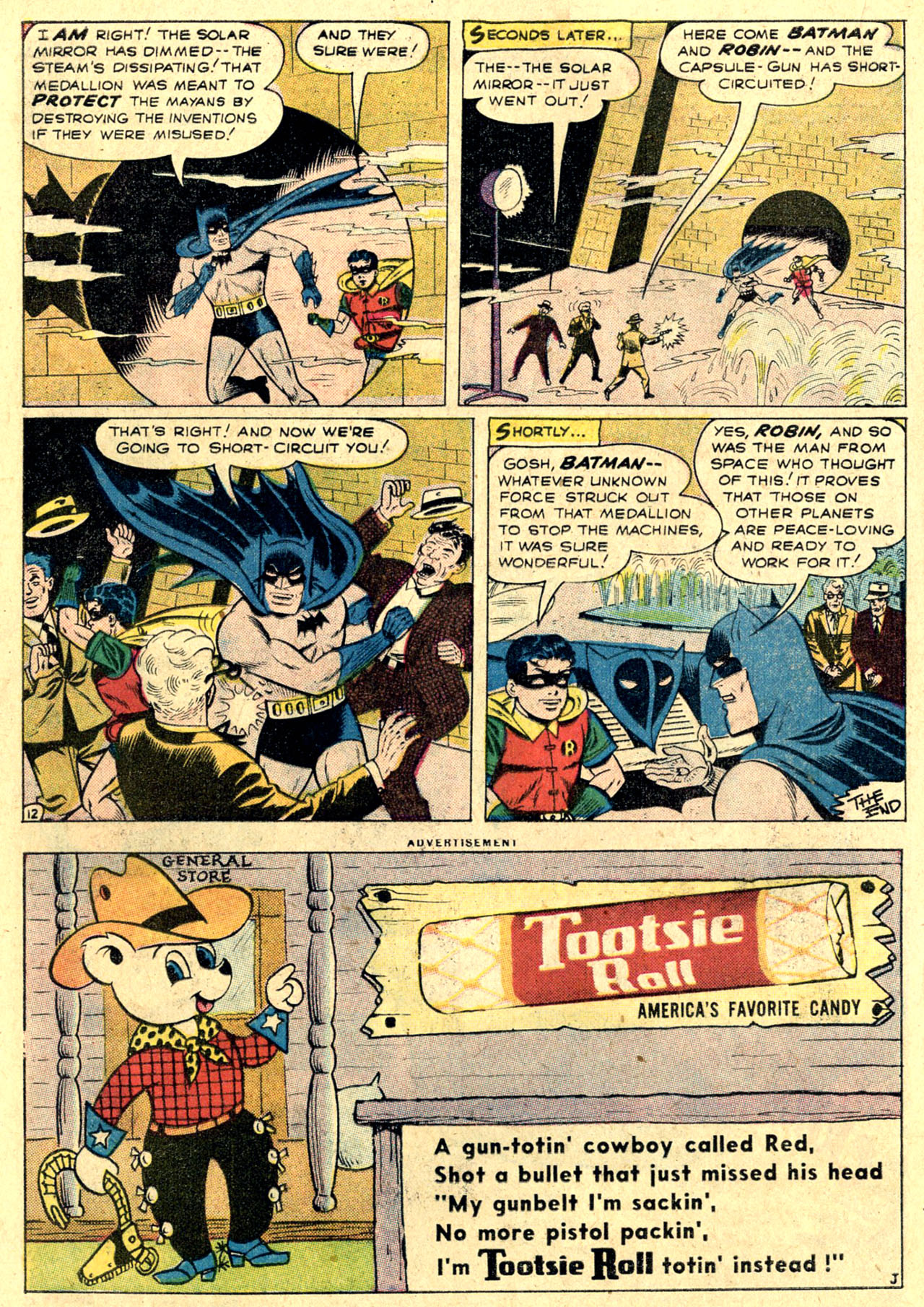 Read online Detective Comics (1937) comic -  Issue #263 - 14