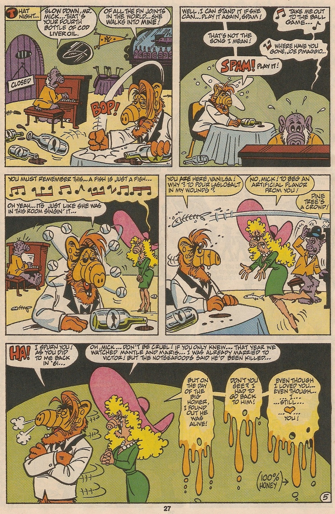 Read online ALF comic -  Issue #48 - 28