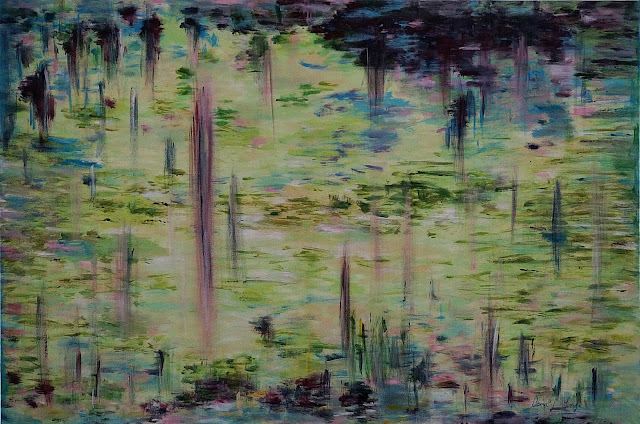 Oana-Singa-Art-Lake-II-painting-24X36in