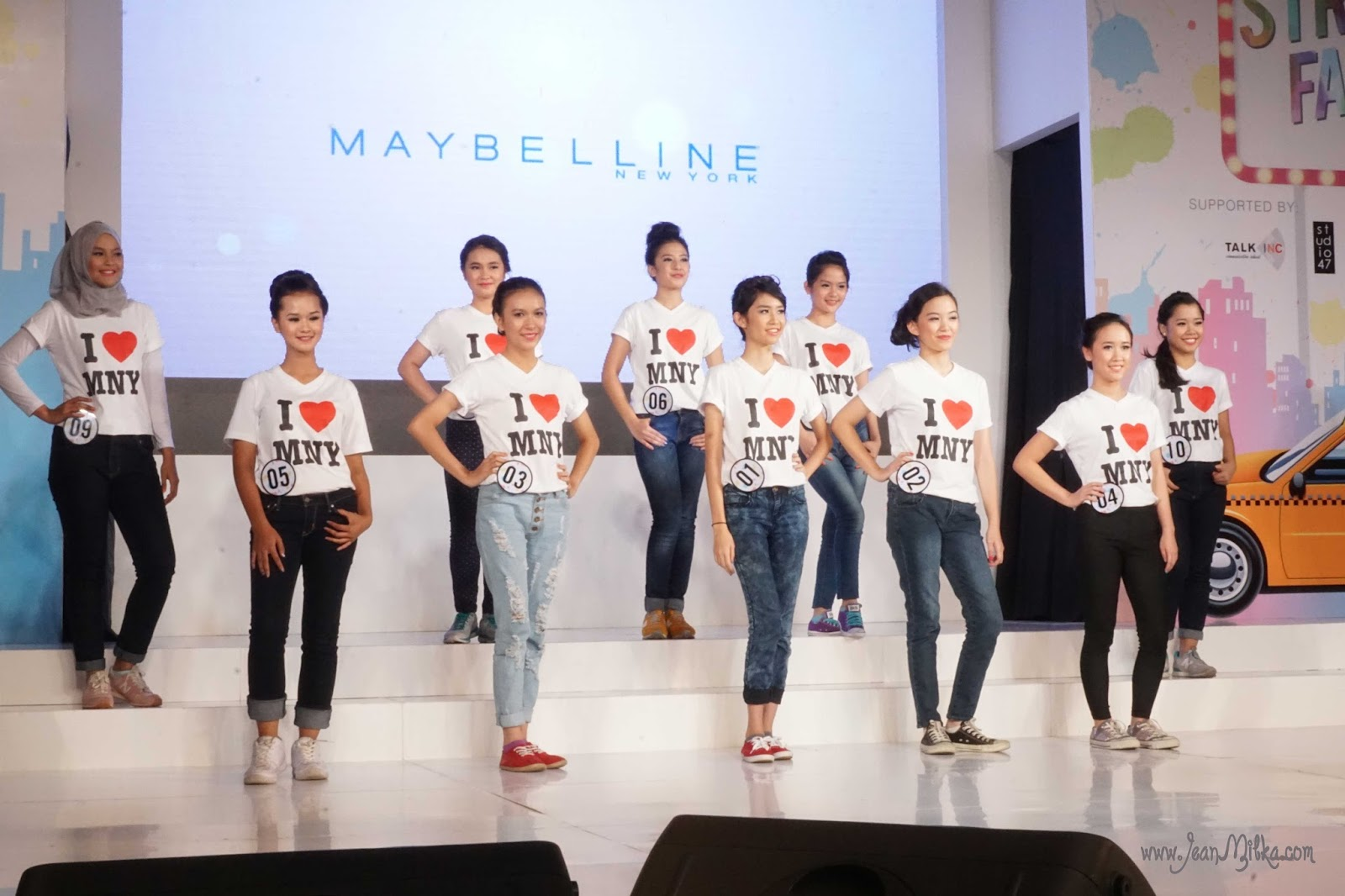 maybelline girl search