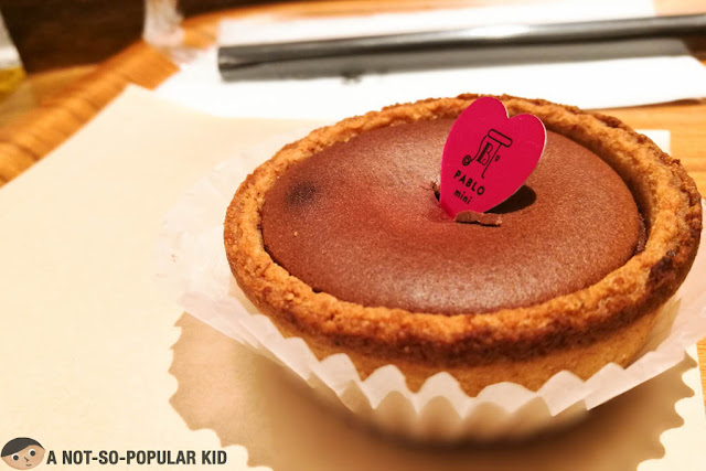 Chocolate Mini Cheese Tart of Pablo - Philippines