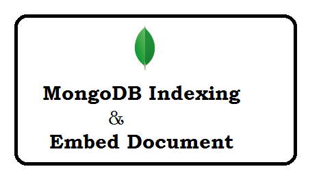 MongoDB indexing and Embed document