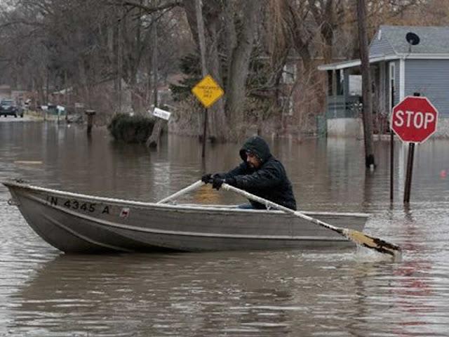 Banjir Pasang Rugikan Jutaan Warga Pesisir AS
