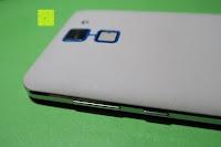 "Tasten: HOMTOM HT30 3G Smartphone 5.5""Android 6.0 MT6580 Quad Core 1.3GHz Mobile Phone 1GB RAM 8GB ROM Smart Gestures Wake Gestures Dual SIM OTA GPS WIFI,Weiß"