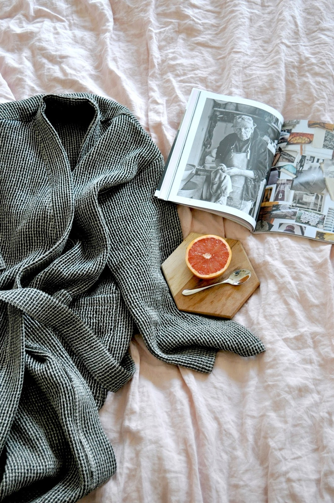 Stylish design from hotel to home bathrobe