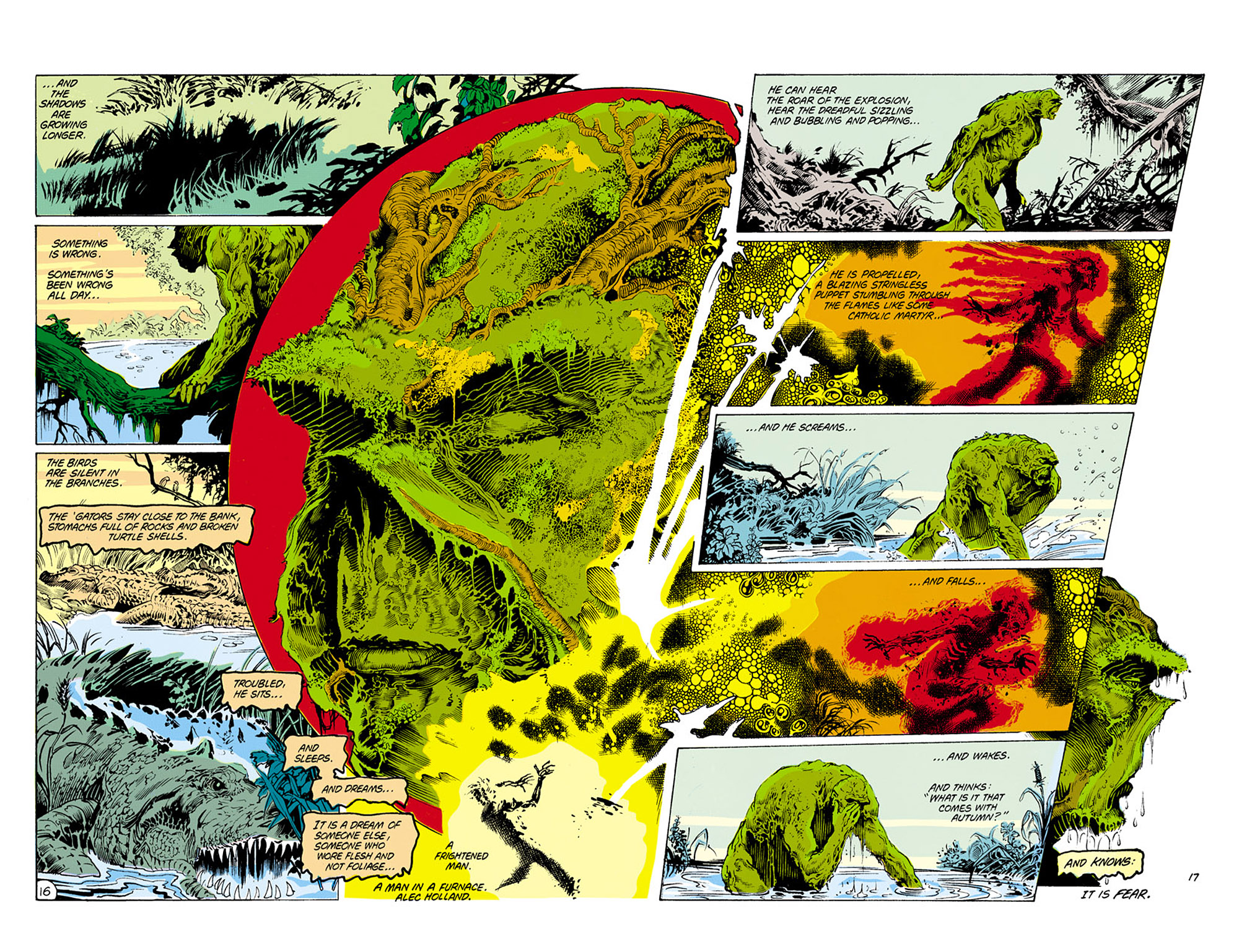 Swamp Thing (1982) Issue #25 #33 - English 17