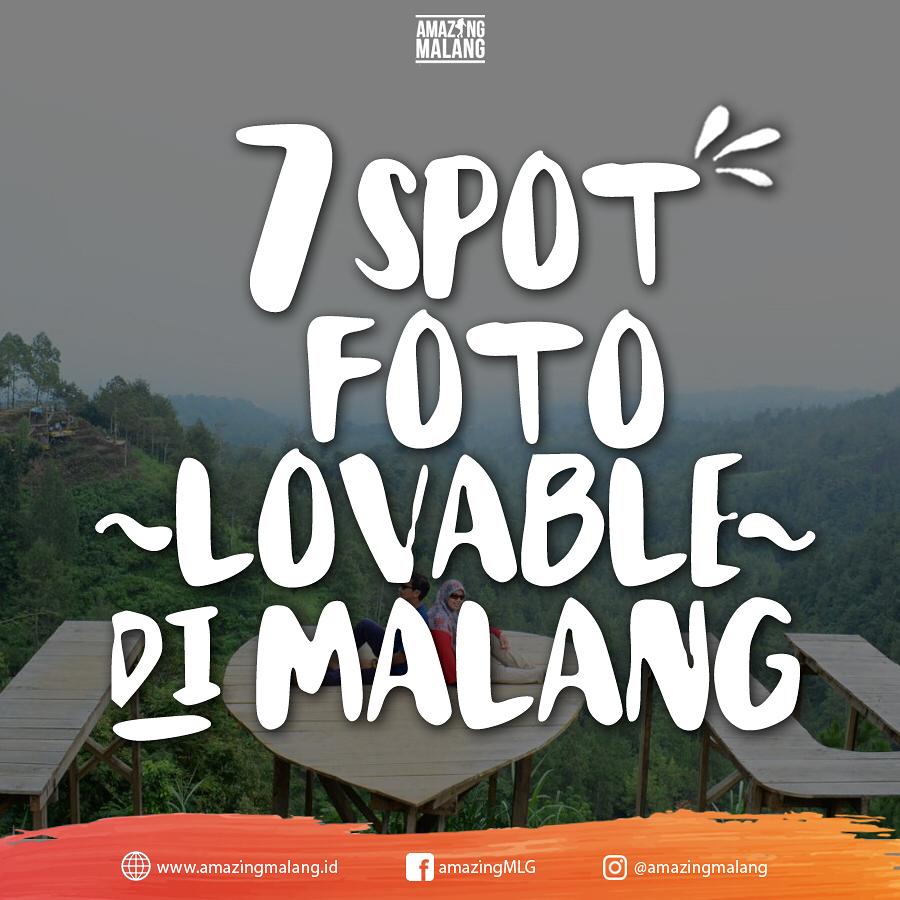 Spot Foto di malang yang memiliki background lovable