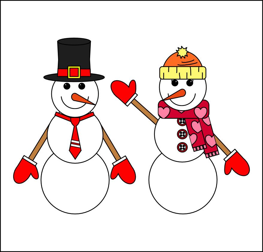 printable snowman template print