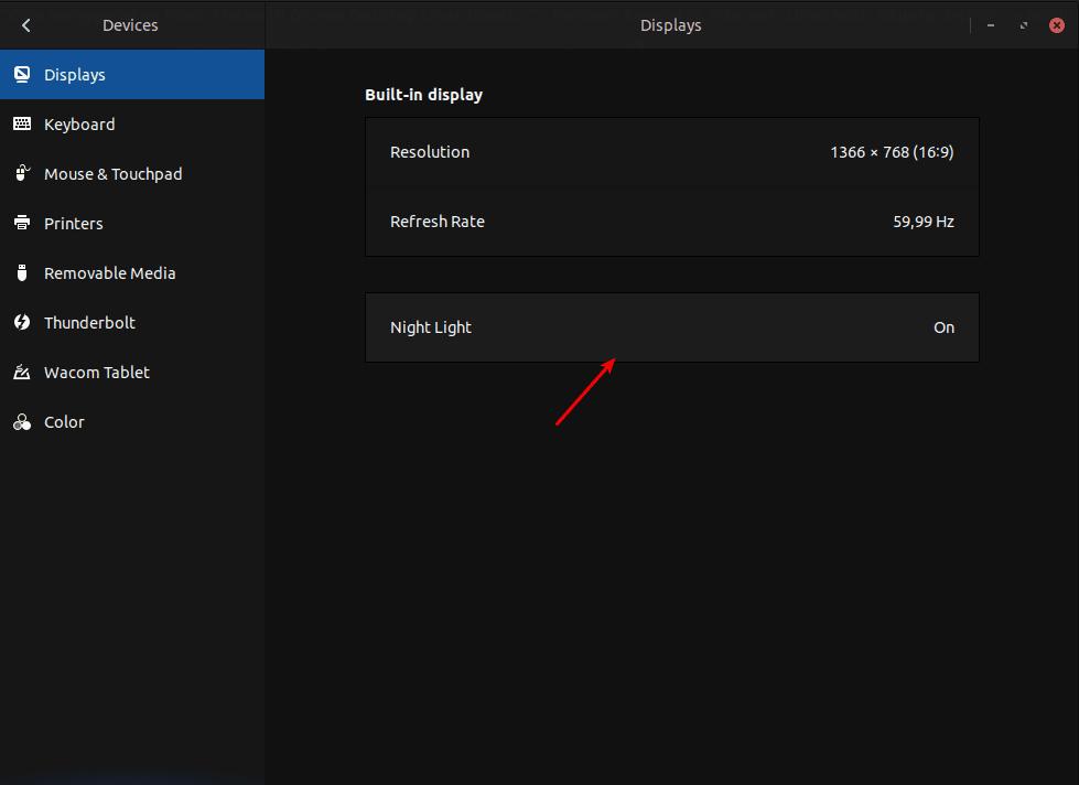 Cara Menggunakan Mode Malam Di Gnome Desktop Linux Ubuntu