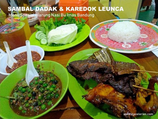 Masakan Sunda Enak Di Warung Nasi Bu Imas Bandung Sambal Dadak