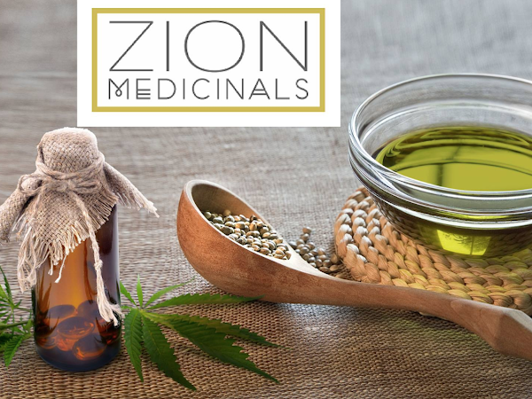 ZION MEDICINALS // Organic Full Spectrum Hemp Oil