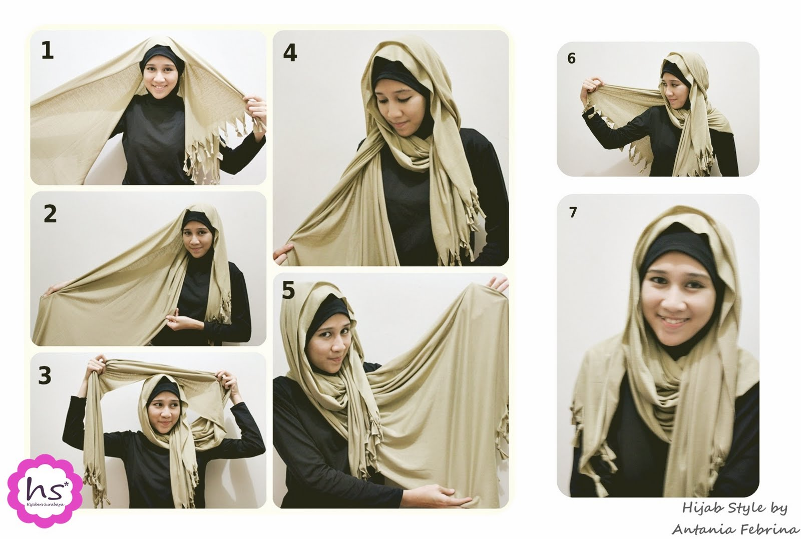 Tutorial Cara Memakai Jilbab Modern Terbaru