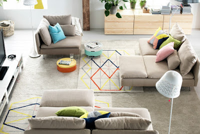 Ruang Keluarga Lebih Nyaman Dengan Furniture IKEA