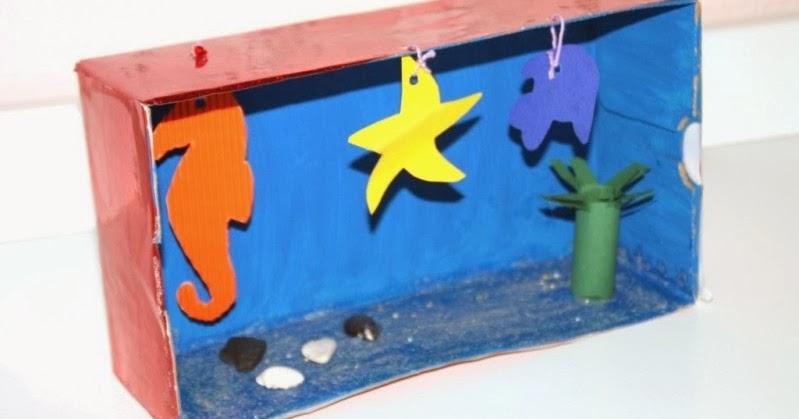 jolinas welt fisch verliebt basteltipp aquarium f r kinder und underwaterlove. Black Bedroom Furniture Sets. Home Design Ideas