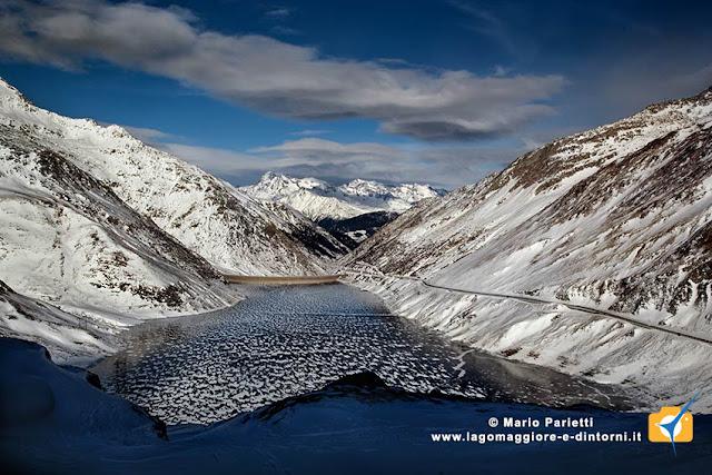 Lago di santa Maria ghiacciato