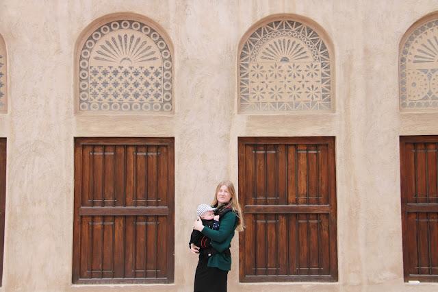Bastakiya Madinat perinnekylä Dubain nähtävyydet lasten kanssa