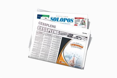 pasang Iklan baris lowongan di koran Solopos
