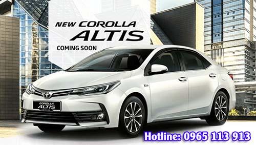 Giá xe TOYOTA Corolla Altis 2017 Hải Phòng