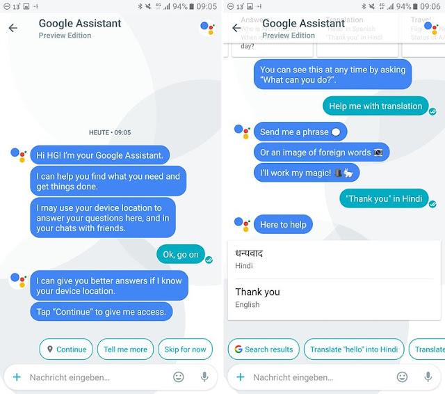 تحميل google assistant للاندرويد