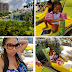 Check Out Lovely Photos Of Psquare Peter's Wife And Kids Vacationing In Florida