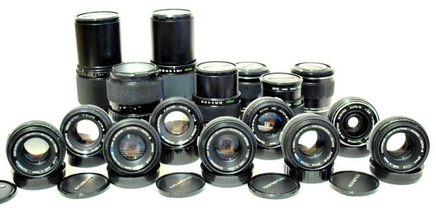 Olympus Zuiko OM MF Lenses