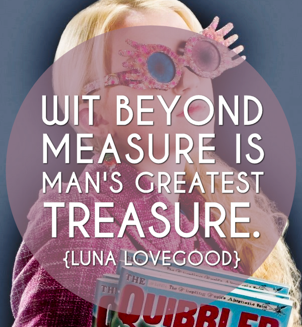 Inspirational Quotes Luna Lovegood
