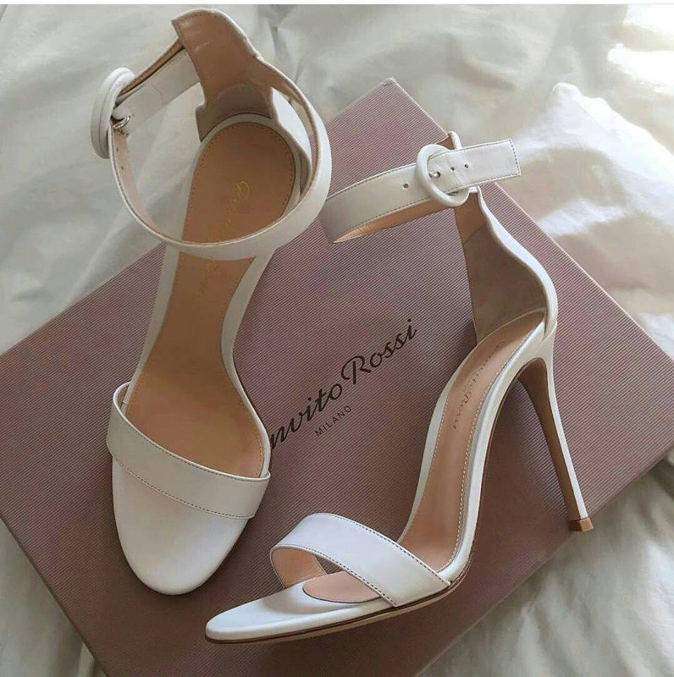 White wedding shoes to Get Inspired