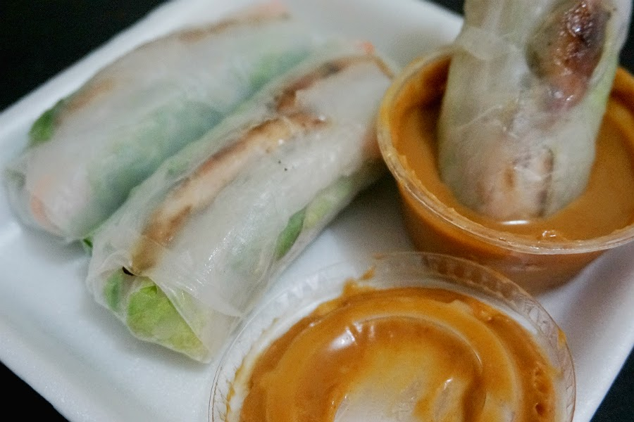 Fresh Vietnamese Chicken Rolls