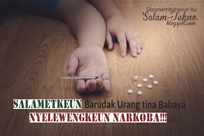 iklan tentang bahaya narkoba