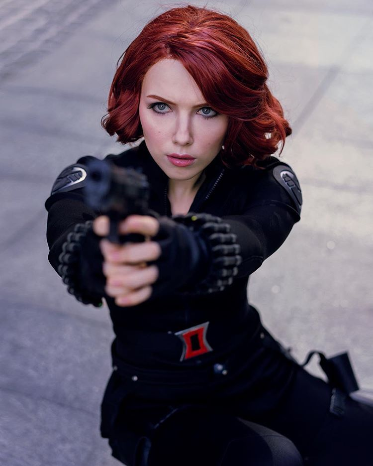 helen stifler sexy black widow cosplay 04